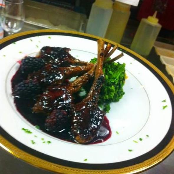 Frenched Lamb Chop - Cafe Mezzanotte, Wilmington, DE