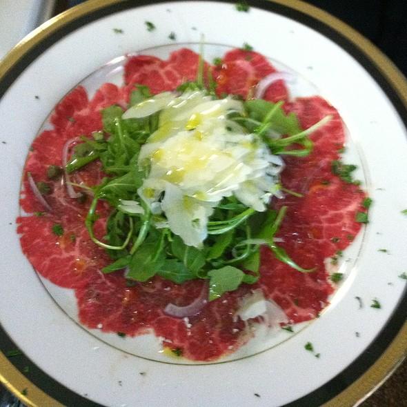 Beef Carpaccio - Cafe Mezzanotte, Wilmington, DE
