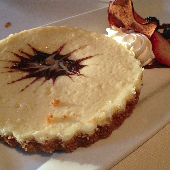 Apple Lemon Cheesecake - The Vineyard Rose at South Coast Winery, Temecula, CA