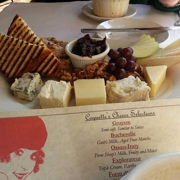 Cheese Plate - Coquette Cafe, Milwaukee, WI