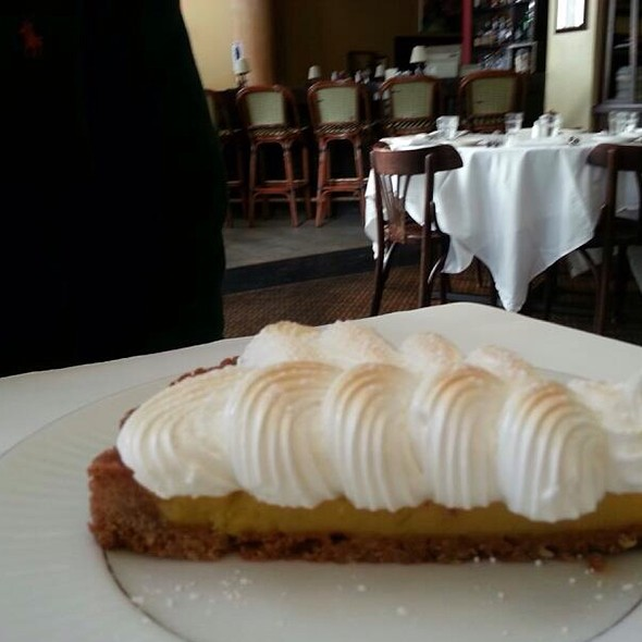 Key Lime Pie With Toasted Meringue - Coquette Cafe -  Permanently Closed, Milwaukee, WI