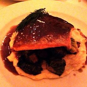 Grilled Salmon - Cassis American Brasserie, St. Petersburg, FL