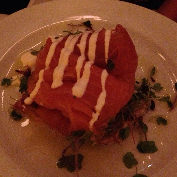 Smoked Salmon Appitizer - Cassis American Brasserie, St. Petersburg, FL