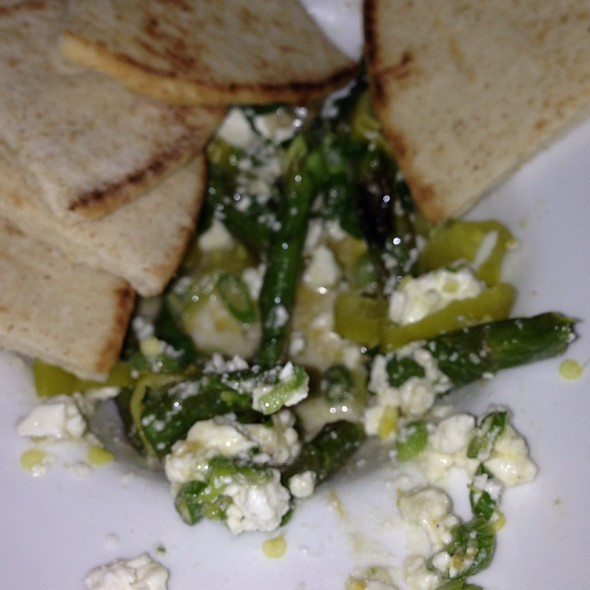 Asparagus And Feta Salad - Cassis American Brasserie, St. Petersburg, FL