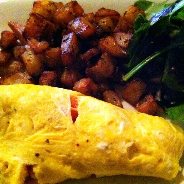 Montrachet Omelette - Les Halles Park Avenue, New York, NY