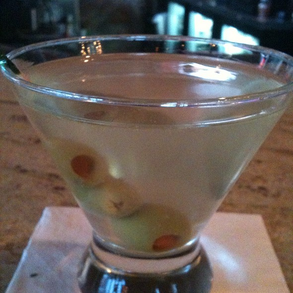 Dirty Martini - Hot Tomato's, Hartford, CT