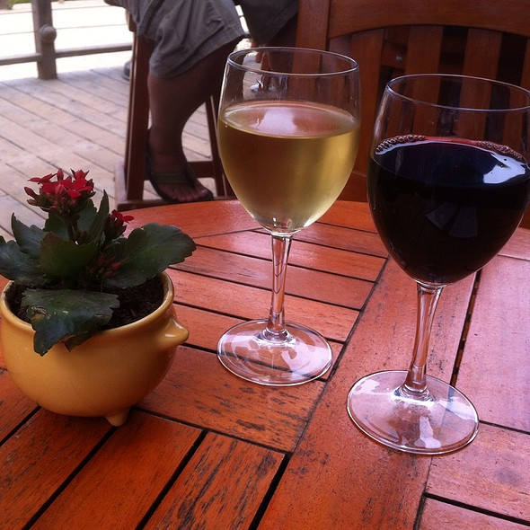 Chardonnay and Pinot Noir - Beachcomber Cafe - Crystal Cove, Newport Coast, CA