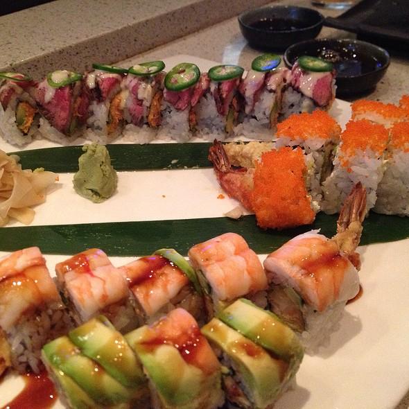 Crunchy Shrimp, Distinguished Gentleman And Mexican Sushi Rolls - Seito Sushi, Orlando, FL