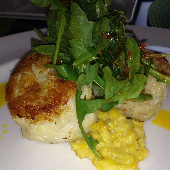 crab cake - Shor Seafood at the Hyatt Resort & Spa, Key West, FL