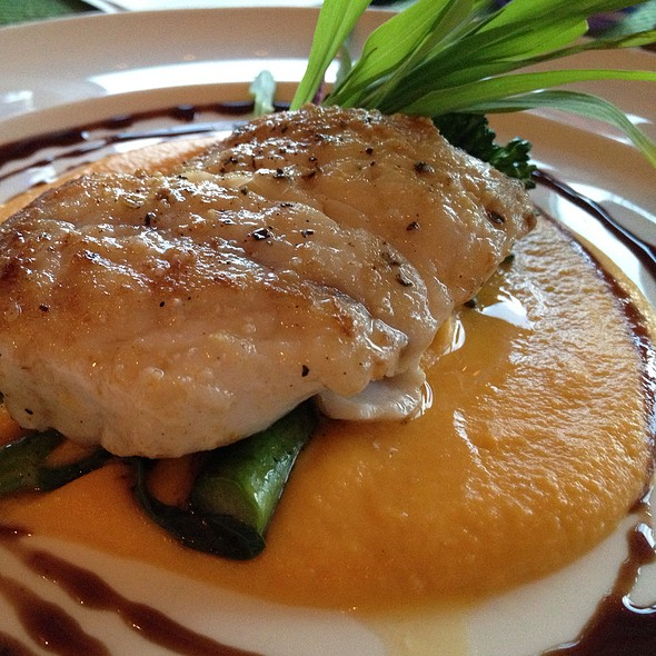 Florida Black Grouper - Shor Seafood at the Hyatt Resort & Spa, Key West, FL