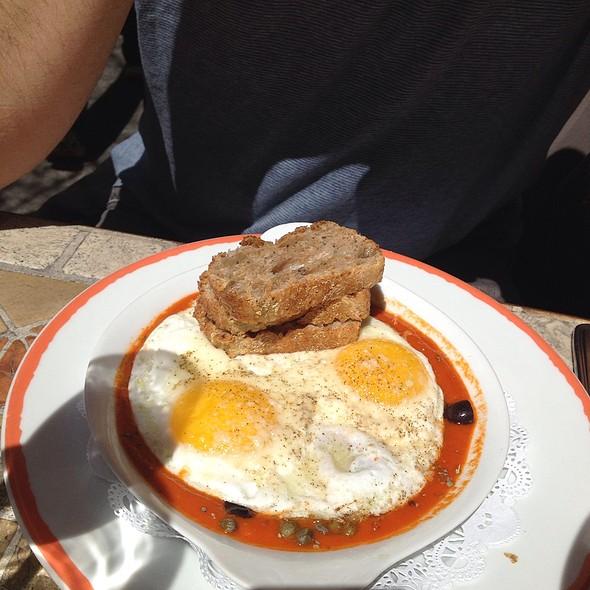 two eggs plate - Sant Ambroeus - Southampton, Southampton, NY