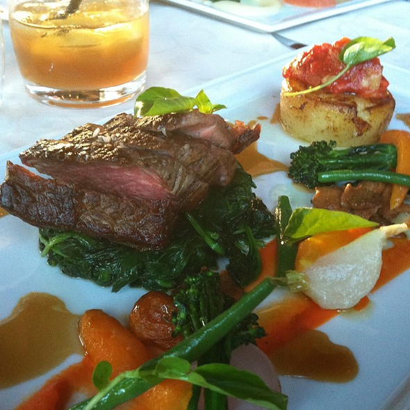 Roasted Organic Beef Striploin - The Observatory at Grouse Mountain, North Vancouver, BC