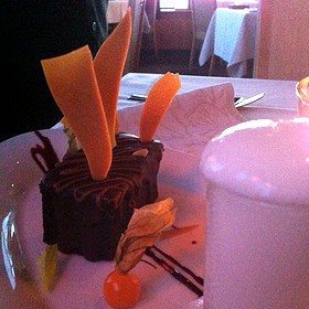 Red Velvet Cake - The Observatory at Grouse Mountain, North Vancouver, BC