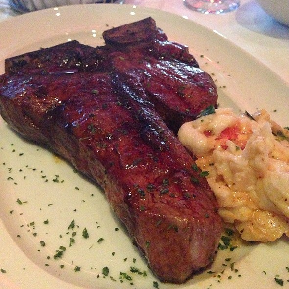 porterhouse steak - Mastro's City Hall Steakhouse, Scottsdale, AZ