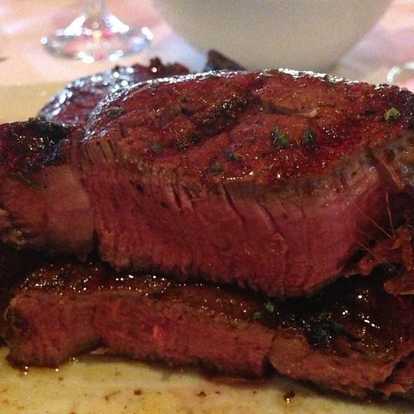 Tenderloin Side Porterhouse Steak - Mastro's City Hall Steakhouse, Scottsdale, AZ