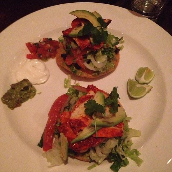 Chicken Tostada - El Segundo Sol and Stripburger, Las Vegas, NV