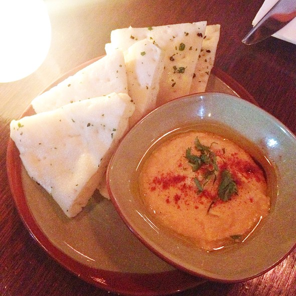 Roasted Chili Hummus - Golden Beetle, Seattle, WA