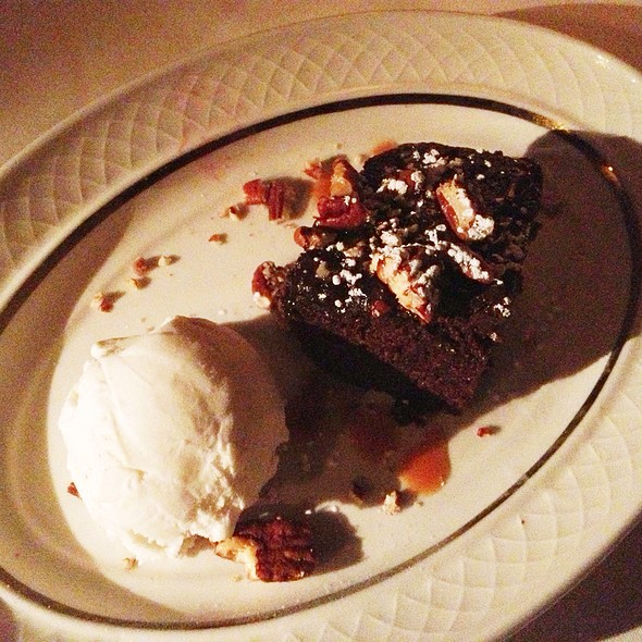 Chocolate Bourbon Cake - El Gaucho - Seattle, Seattle, WA