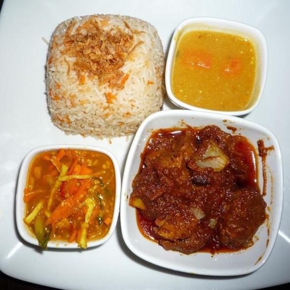 Nasi Briyani Ayam - Satay House, London