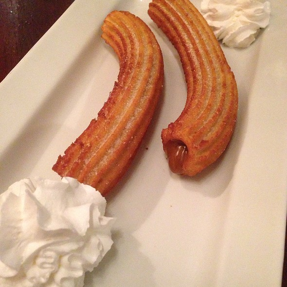 Churros Rellenos - Don Churro Cafe, Chantilly, VA