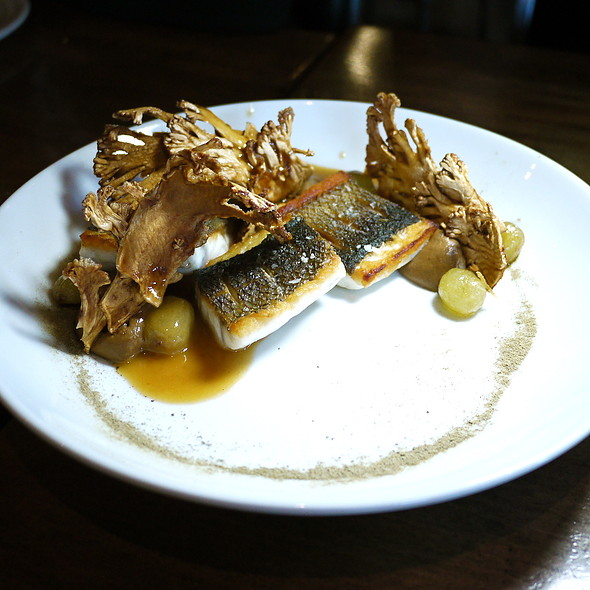 Branzino, Roasted Cauliflowers, Capers, Fermented Grapes - ink., West Hollywood, CA