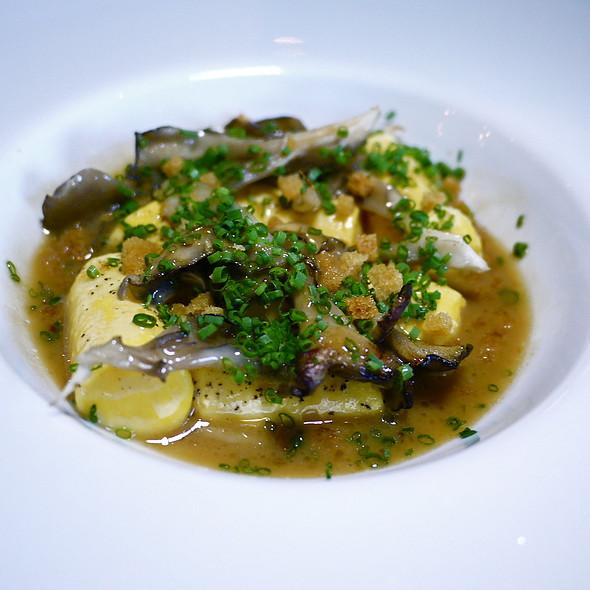 Egg Yolk Gnocchi, Mushroom Brown Butter, Hen Of The Woods - ink., West Hollywood, CA