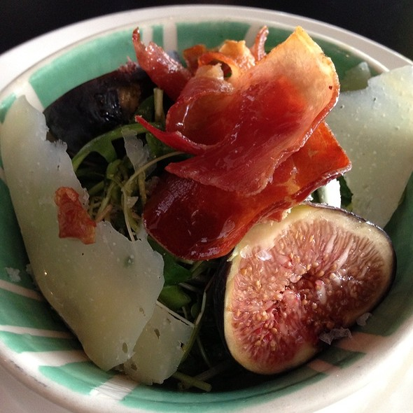 Fig And Prosciutto Salad - Culina Cafe at the Muttart, Edmonton, AB