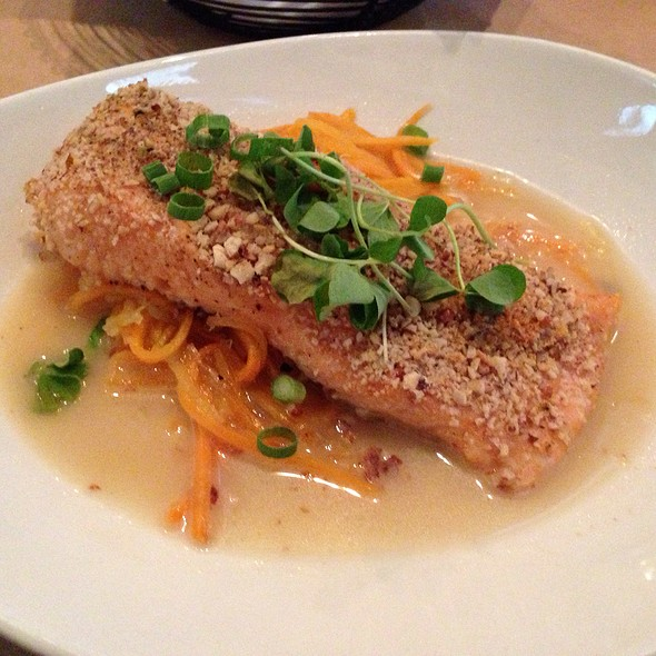 Almond Crusted Salmon - Wisteria, Atlanta, GA