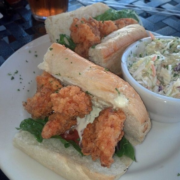 Shrimp Po' Boy - Libby's Cafe & Bar, Sarasota, FL