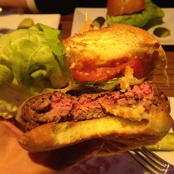 Mushroom & Swiss Burger - Broadway Burger Bar and Grill, Las Vegas, NV