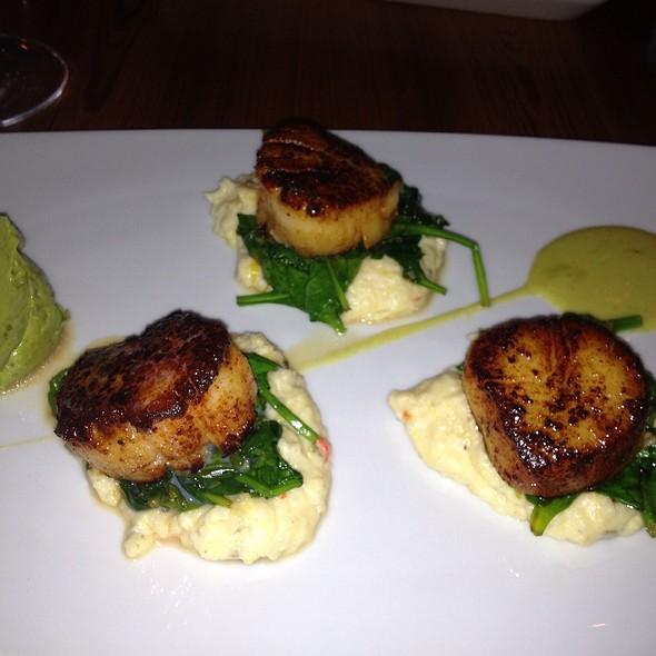 Maine Scallops - Bliss Restaurant, San Antonio, TX