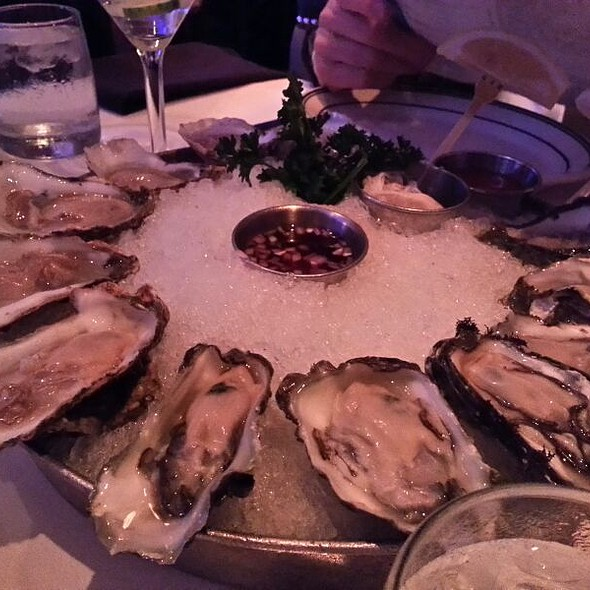 Assorted Oysters - Oceanaire Seafood Room - Indianapolis, Indianapolis, IN