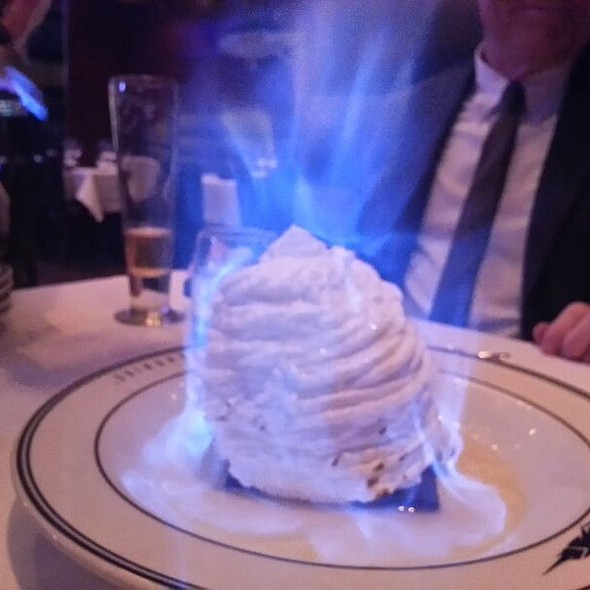 Baked alaska - Oceanaire Seafood Room - Indianapolis, Indianapolis, IN