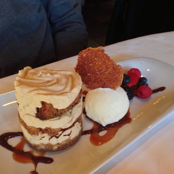 Tiramisu - Terra Restaurant, Thornhill, ON