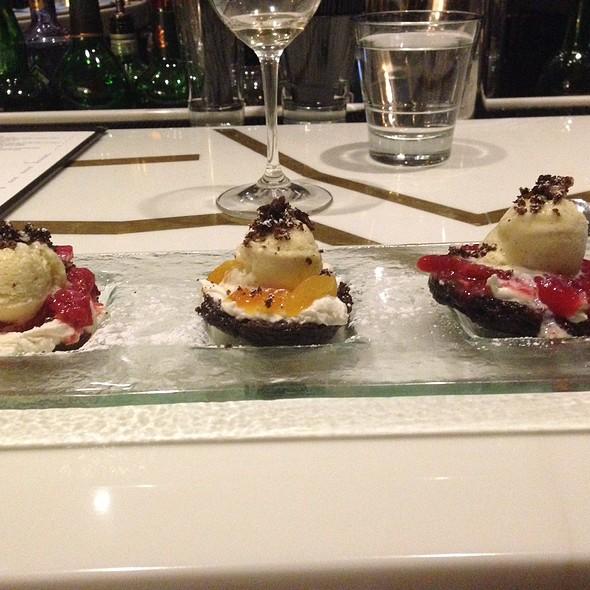 Chocolate Shortcake Trio - Cusp Dining & Drinks, San Diego, CA