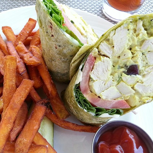 Curry Chicken Wrap - Escena Lounge & Grill, Palm Springs, CA