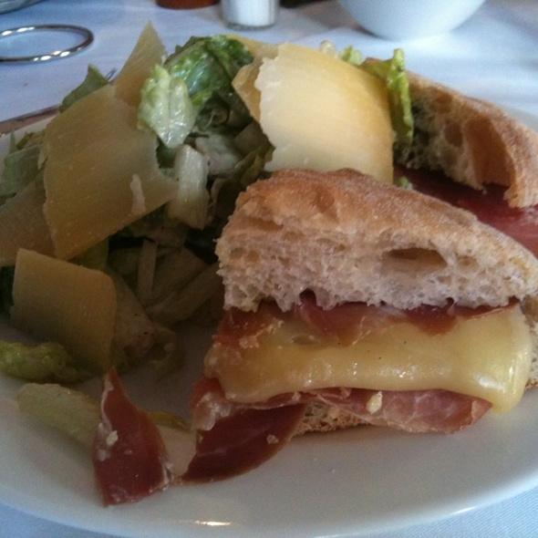 Prosciutto And Fontina Sandwich - Pasta da Pulcinella, Atlanta, GA