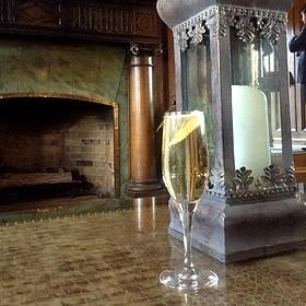 Sparkling Garden Cocktail - The Bengal Lounge - The Fairmont Empress Hotel, Victoria, BC
