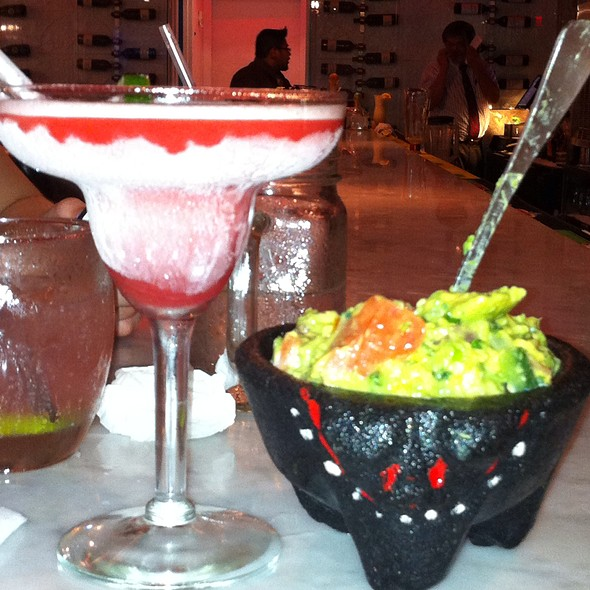 Guacamole, Chips And Salsa And Margarita - Vega Mexican Cuisine, Hartsdale, NY