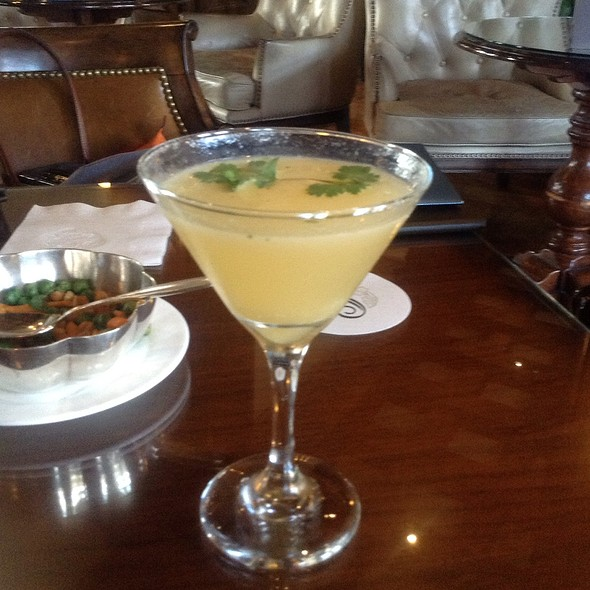 Ginger Fresca - The Bengal Lounge - The Fairmont Empress Hotel, Victoria, British Columbia