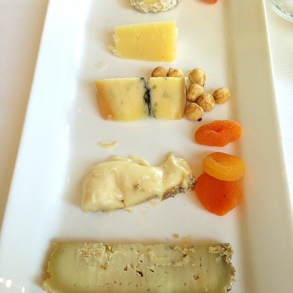 Cheese Plate - Patina Restaurant, Los Angeles, CA