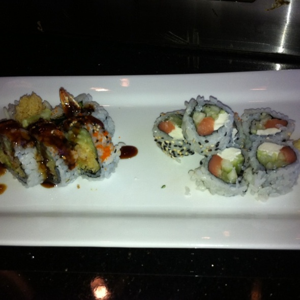 Phildelphia Rolla And Spider Rolls - Feng Asian Bistro and Hibachi, Canton, CT