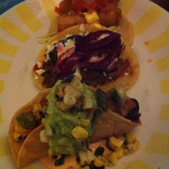 3 Taco Platter - Border Grill - Downtown LA, Los Angeles, CA