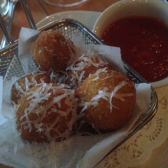 Arancini - The Barrel Room at City Winery, New York, NY