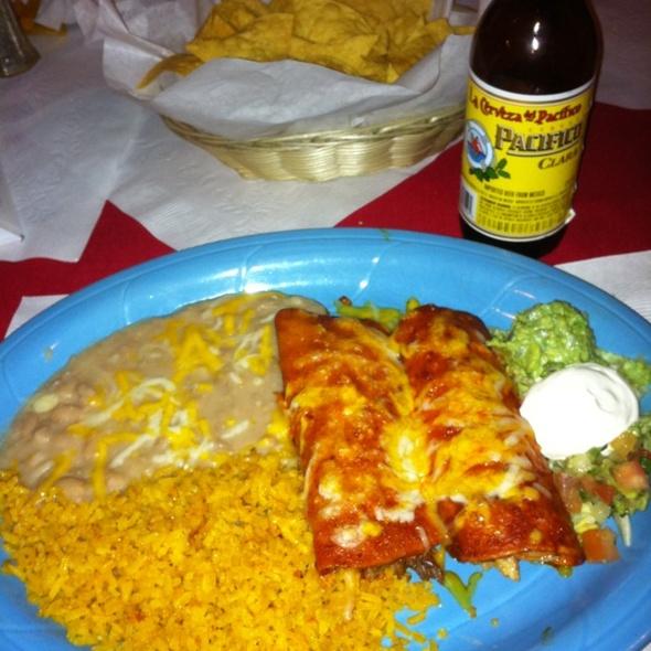 Two Enchiladas - Lopez Restaurante y Cantina, Monterey, CA