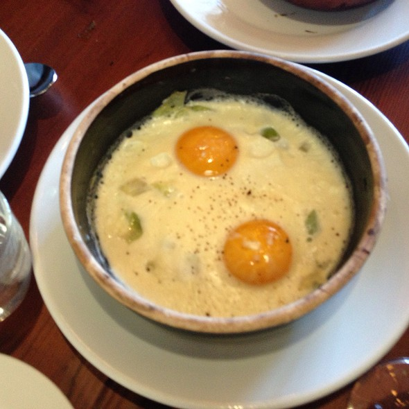 Eggs cooked by the fire - Camino, Oakland, CA