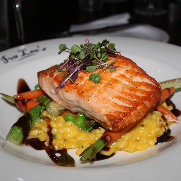 Pan Seared Salmon  - Iva Lee's, San Clemente, CA