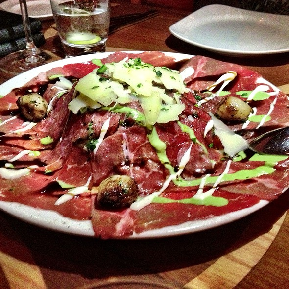carpaccio - Todd English´s - Olives, México, CDMX
