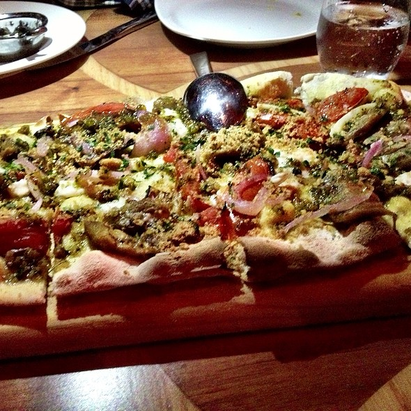 Flatbread - Todd English´s - Olives, México, CDMX