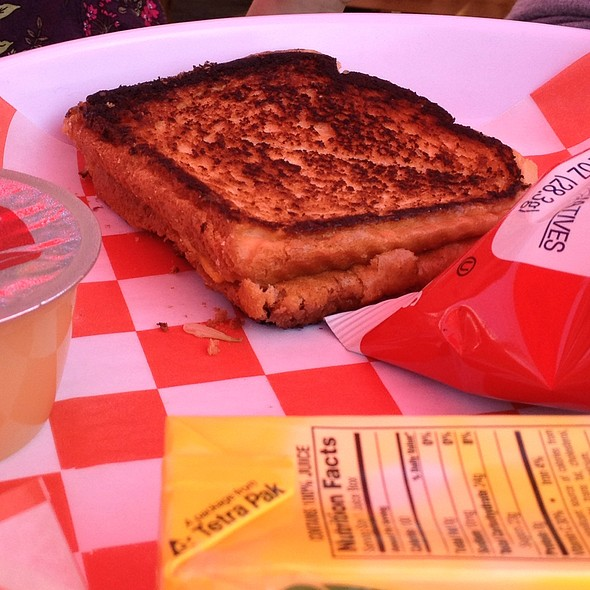 Kid's Grilled Cheese - Phillips Seafood, Baltimore, MD